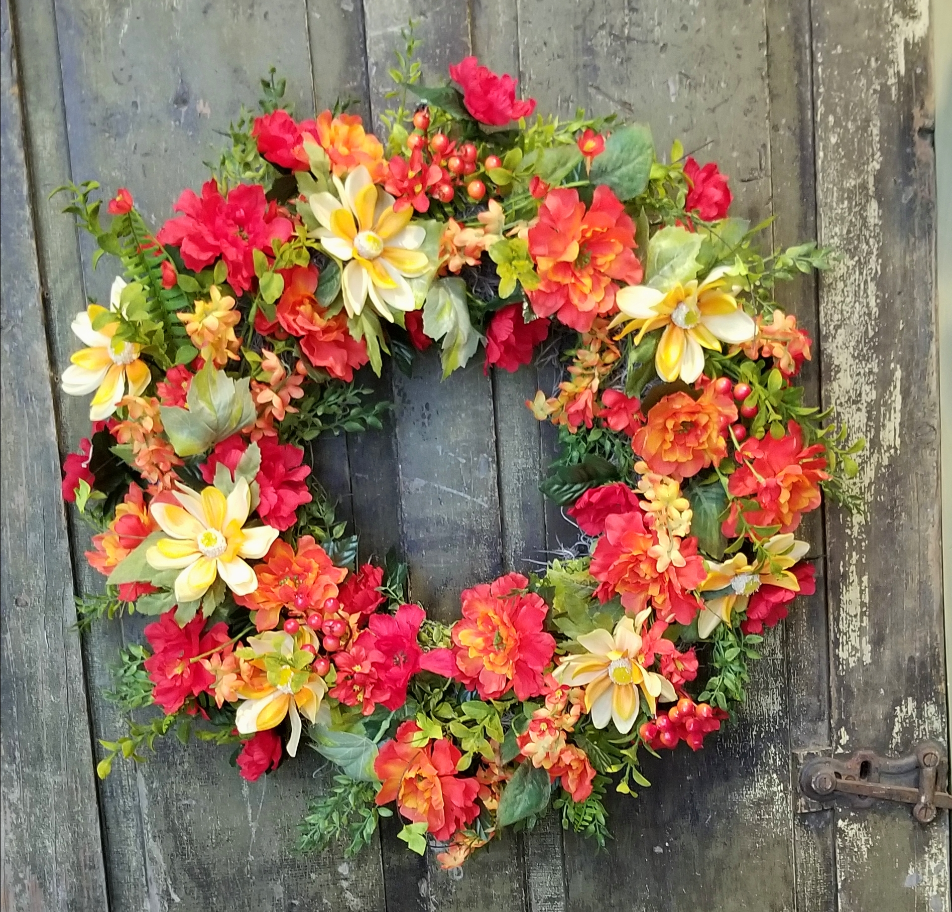 Summer Sunset Wreath Inspired Designs By Keith Phelps